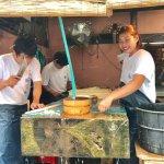 Prepping eel