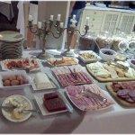 Una muestra del desayuno.