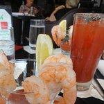 Happy Hour Special, shrimp cocktail....delish !!!