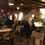 a very traditional local restaurant - and it's in a cave