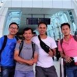Our Guest Vince LeBlanch at Bali international Airport