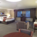 Our suite. Clean, modern, spacious and very comfortable!