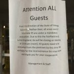 Hotel closed at noon and did NOT notify arriving guests!