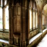 The cloister at Lacock