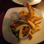 Tempura of Killybegs Cod, highly recommended.