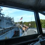A view on the bridge of the USS The Sullivans