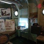 Captains Inport Cabin on the USS The Sullivans