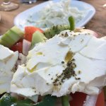 Firm but creamy feta cheese