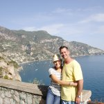 View from our stop along the road on the Amalfi Coast