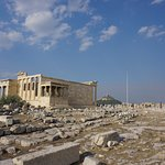 View of/from the Parthenon - Athens Greece August 2017