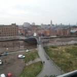 A view from the 7th floor window of the River Hull