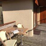 Terrasse au soleil - Pavillon des Bois