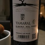A glass of Tamaral was nice too