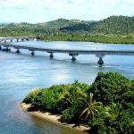 San Juanico Bridge in the Philippines