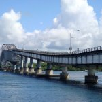 San Juanico Bridge in the Philippines