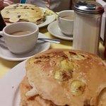 Pancakes Banane et Pancakes Chocolat
