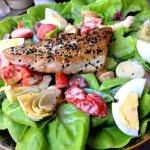 Ahi Tuna Salad was good...