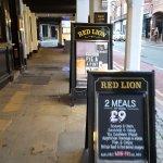 The Red Lion Pub,a class real ale pub.
