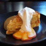 Peach Cornmeal Cake