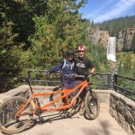Tumalo Falls on one of our long days of riding