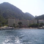 View of hotel from Taxi-boat