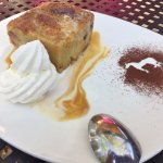 Bourbon Bread Pudding - The White Horse Country Pub, Marble Dale CT