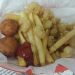 Kids fried shrimp
