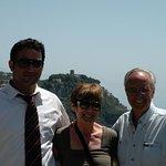 Gennaro, Susan and Don at Ravello