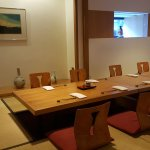 Also featuring the privacy to dine in one of our private Tatami rooms.