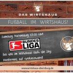 Fussball Highlights werden auf Grossleinwand übertragen! Tolle Atmosphäre!