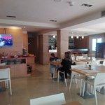 salón del desayuno y restaurante
