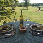 Picnic time at Hickory Hill Vineyards