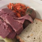 Corned Beef Dinner with Potatoes, Cabbage & Carrots
