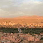 Nice town in the valley / Moroccan houses