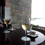 Bar et sa vue sur Roscoff