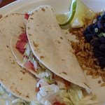 fish tacos with black beans