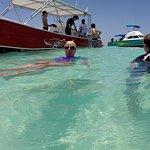 The beautiful waters off Isla Mujeres(Women Island)