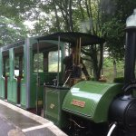 Driving a real steam locomotive