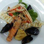 Seafood medly