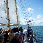 A beautiful sail.