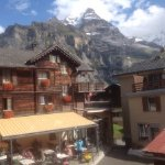 Alpine view from Chalet Fontana