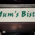 Mums Bistro - entrance sign