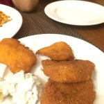 Appetizer : Fried Fish with tartare dip
