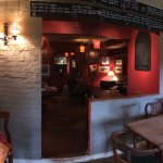 Interior bar area.