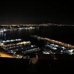 La vista dalla terrazza panoramica
