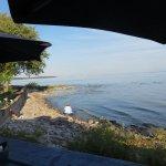 This looking at Buffalo New York along the shoreline.