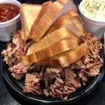 Brisket and two sides