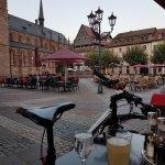 Blick auf den Marktplatz.