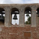 The bell wall at the Mission San Jan Capistrano