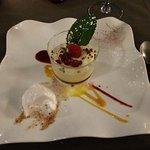 """Dessert autour du fruit exotique de La Table d'Yvan"""""""